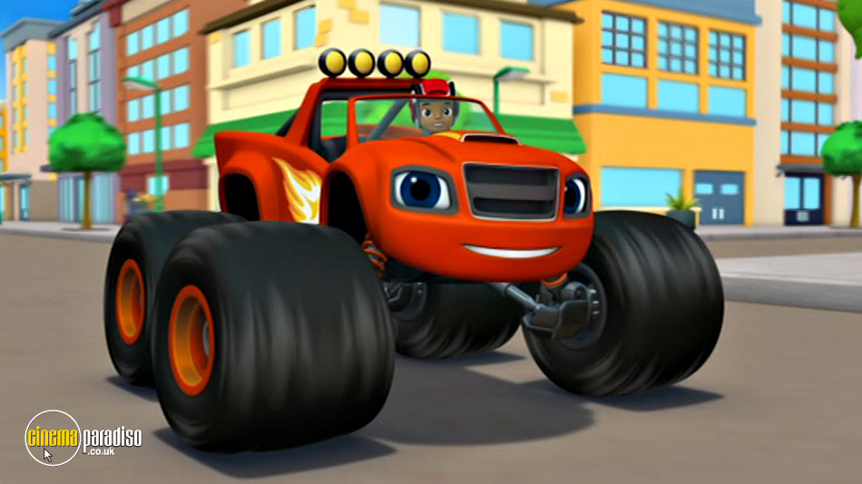 Blaze and the Monster Machines: Race Into Velocityville online DVD rental