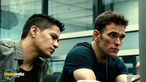 A still #3 from Takers (2010) with Matt Dillon and Jay Hernandez