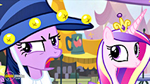 A still #7 from My Little Pony: Friendship Is Magic: Rarity Takes Manehattan (2016)