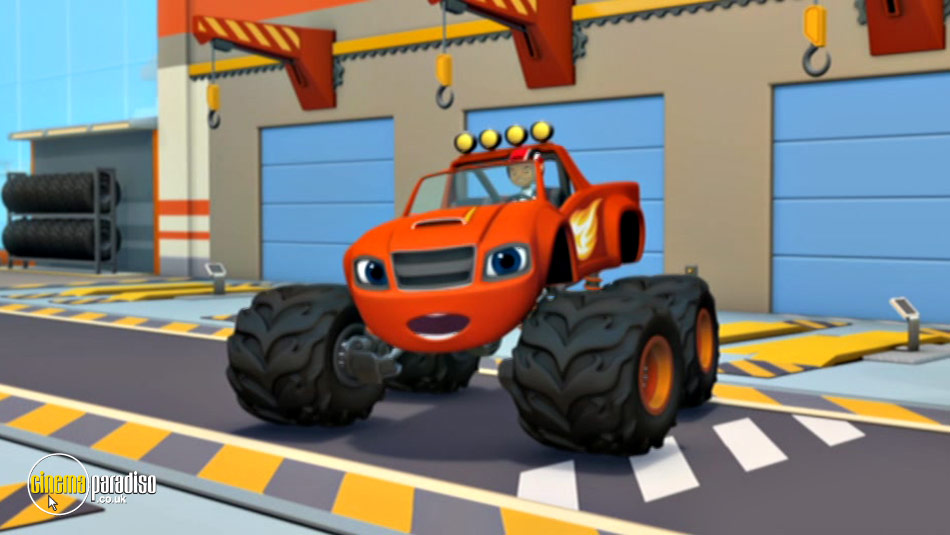 Blaze and the Monster Machines: Ready, Set, Go! online DVD rental