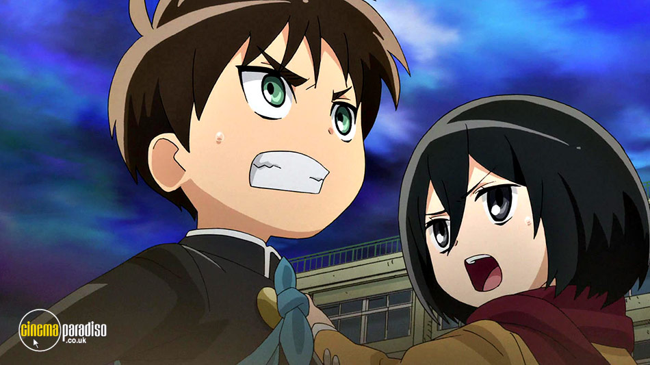Attack on Titan: Junior High (aka Shingeki! Kyojin Chugakko) online DVD rental