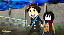 A still #17 from Attack on Titan: Junior High (2015)