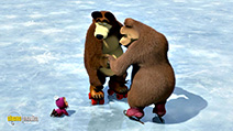 A still #38 from Masha and the Bear: Holiday on Ice (2009)
