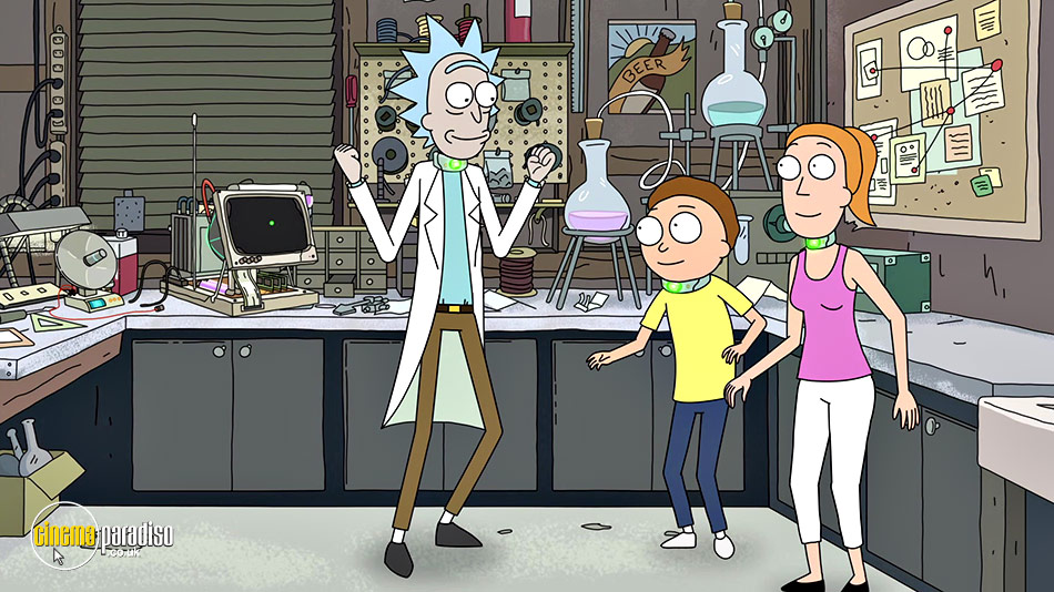 Rick and Morty: Series 2 online DVD rental