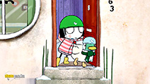 A still #16 from Sarah and Duck: Petal Light Picking and Other Stories (2013)