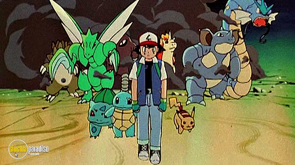 Pokemon: The First Movie online DVD rental