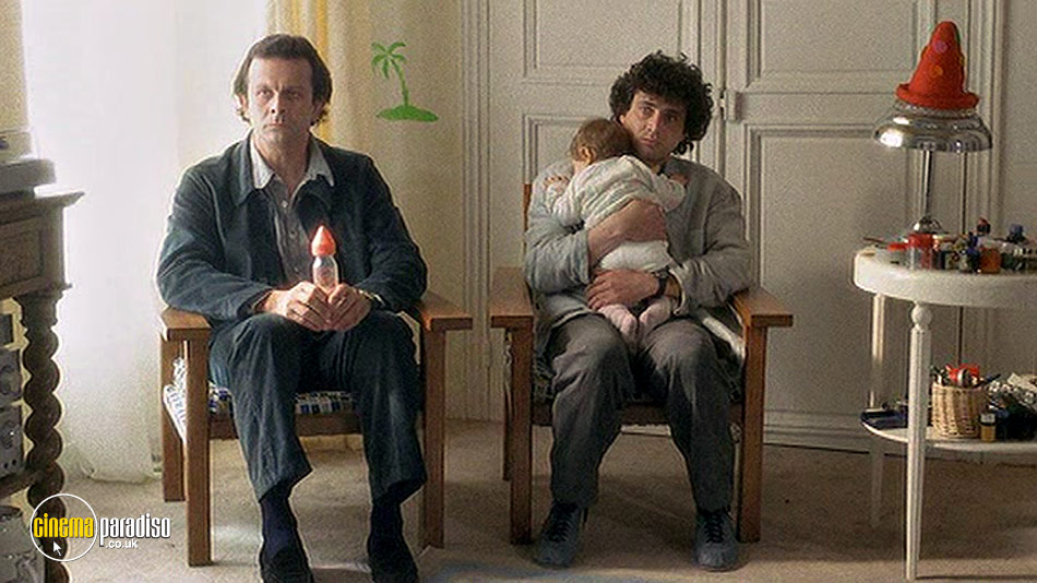 Three Men and a Cradle (aka Trois Hommes Et Un Couffin) online DVD rental