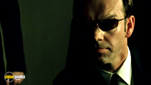 A still #22 from The Matrix Revolutions with Hugo Weaving