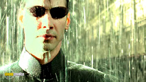 A still #26 from The Matrix Revolutions with Keanu Reeves