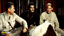 A still #13 from Lawrence of Arabia (1962) with Omar Sharif and Peter O'Toole