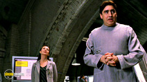 A still #21 from Spider-Man 2 with Alfred Molina