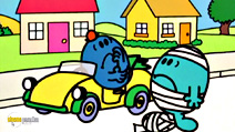 Still #1 from Mr Men and Little Miss: Mr Bump Goes on a Trip