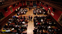 Still #1 from David Icke: Live at the Oxford Union Debating Society
