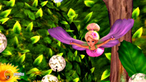 Still #2 from Barbie Presents Thumbelina