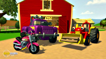 Still #2 from Tractor Tom: The New Vehicle and Other Stories