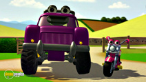 Still #4 from Tractor Tom: The New Vehicle and Other Stories