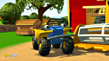 Still #8 from Tractor Tom: The New Vehicle and Other Stories