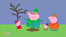 Still #1 from Peppa Pig: Cold Winter Day