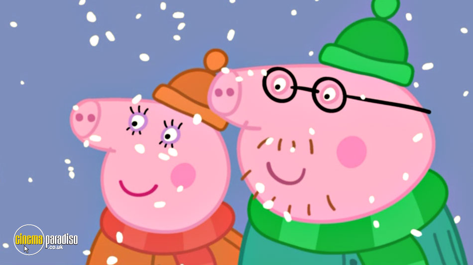 Peppa Pig: Cold Winter Day online DVD rental