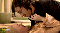A still #4 from The Borgias: Series 1 with Holliday Grainger and François Arnaud