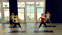 Still #5 from Antonia Kidman Yoga: Power and Style of Ashtanga