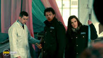A still #3 from Grabbers (2012) with Richard Coyle, Ruth Bradley and Russell Tovey