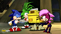 Still #3 from Sonic the Hedgehog: Sonic Underground: Vol.1