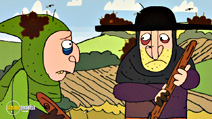Still #3 from Horrible Histories: Measly Middle Ages