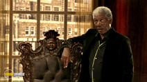 A still #11 from Lucky Number Slevin with Morgan Freeman