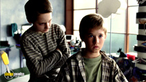 A still #8 from A.I. Artificial Intelligence with Haley Joel Osment and Jake Thomas