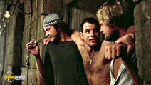 A still #15 from Midnight Express with Brad Davis, Norbert Weisser and Randy Quaid