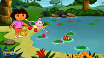 Still #1 from Dora the Explorer: Egg Hunt
