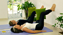 Still #8 from Shape Up the Pilates Way with Lynne Robinson