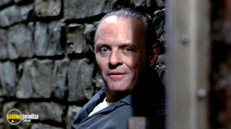 A still #9 from The Silence of the Lambs with Anthony Hopkins
