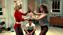 A still #7 from Dirty Dancing with Cynthia Rhodes, Jennifer Grey and Patrick Swayze