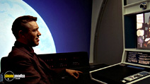 A still #16 from 2001: A Space Odyssey with William Sylvester