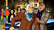 Still #8 from Scooby-Doo!: Mask of the Blue Falcon