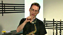 Still #6 from Jools Holland's Music Makers: The Saxophone with Pete Thomas