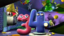 Still #8 from Numberjacks: Counting Down to Christmas