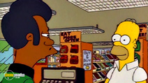 Still #3 from The Simpsons: The Simpsons Against The World