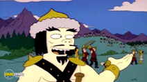 Still #5 from The Simpsons: The Simpsons Against The World