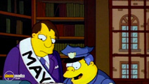 Still #7 from The Simpsons: The Simpsons Against The World