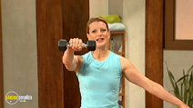 Still #3 from 10 Minute Solution: Kettleball Ultimate Fat Burner
