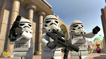 Still #3 from Lego Star Wars: The Empire Strikes Out