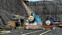 Still #8 from Thomas and Friends: Blue Mountain Mystery