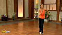 Still #4 from 10 Minute Solution: Dance Off Belly Fat
