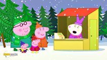 Still #4 from Peppa Pig: Peppa's Christmas