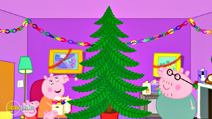 Still #6 from Peppa Pig: Peppa's Christmas