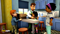 Still #3 from Fireman Sam: Sticky Situatuion