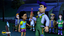 Still #8 from Fireman Sam: Sticky Situatuion